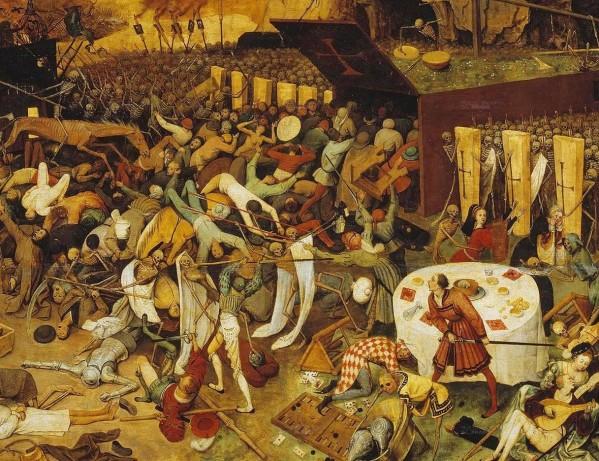 Le Triomphe de la Mort, tableau de Pieter Brueghel l'Ancien